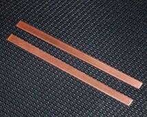 Copper Cuffs - 16 gauge, stamping blanks, metal blanks, Bopper, copper stamping strips, arm bands, cuff blanks, copper bracelet blanks