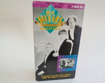 The Stooges 60th Anniv Collection VHS Tape Set