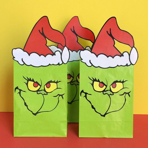 The Grinch Party Favor...