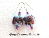 Lampwork Glass Dangle Ear...