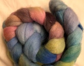 Hand Dyed Roving - Merino - Spinning and Felting Wool - New Zealand Organic