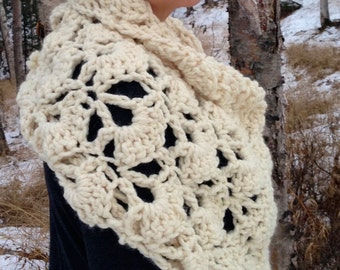 The September Poncho Crochet Pattern DIY Bolero, Shawl, One piece Poncho