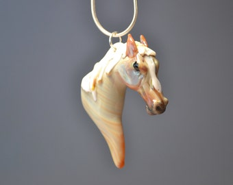 Custom Horse Pendant made to match your own horse