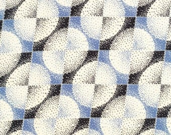 Clearance 1 YARD Voile Coterie Blueberry Greenfield Hill Denyse Schmidt  VDS01.BLUEB.