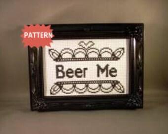 PDF/JPEG Beer Me (Pattern)