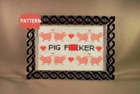 PDF/JPEG Pig F-cker (Pattern)