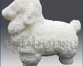 """3D silicone Soap/polymer/clay/cold porcelain/candle mold-Sheep no. 2 - """"Buy only from the original designer"""