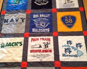 20 tshirt quilt