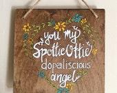 SpottieOttieDopaliscious Angel sign - Outkast Art - Quote art