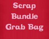 Scrap Bundle Grab Bag Cotton Quilting Fabric At Least 10 Ounces