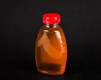 Pure, Natural, Raw, Unprocessed Honey - 2.0 pound Plastic Squeezable