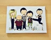 The Gang - 5x7 Print