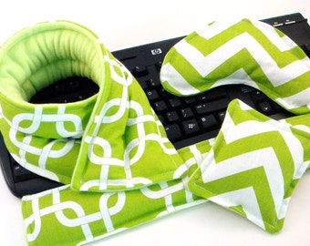 Office Gift Set, Hot Cold Therapy Packs, Relaxation Gift, Keyboard Mouse Wrist Supports, Microwave Neck Pack, Eye Pillow, Heat Pads