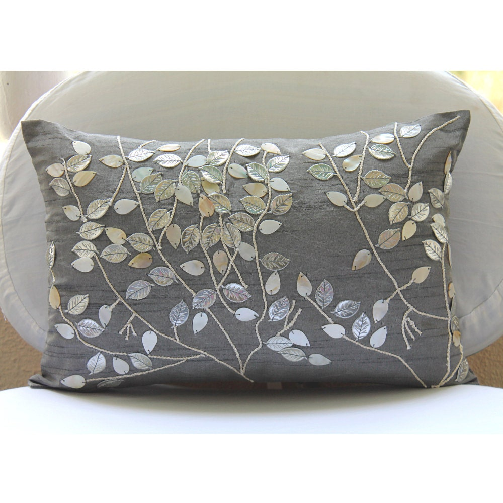 Rectangular Throw Pillow Covers : Decorative Oblong / Lumbar Rectangle Throw Pillow Cover Accent