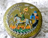 vintage Baret Ware tin--made in England--miniature container