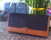 70's-80's TED LAPIDUS Embossed Wallet