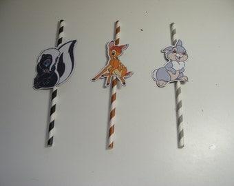 Bambi Straws