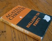 Agatha Christie, Hallowe'en Party, First Edition, Book Club Edition, First US Edition, 1969