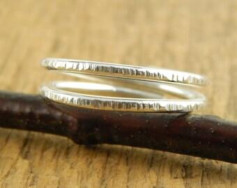 Adjustable sterling silver ring, affordable wedding band, adjustable heavy gauge 1.5 mm handmade sterling ring.