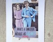 Romance card, gangster love #42