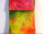 Cell Phone Case, Colorful gadget pouch, glasses case, velcro pouch