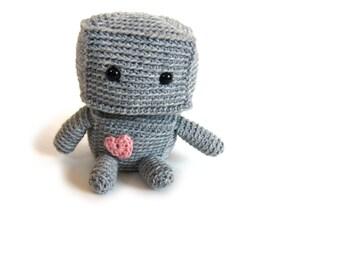 Crochet PATTERN: Robot -pdf-