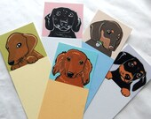 Dachshund Bookmarks - Eco-friendly Set of 5