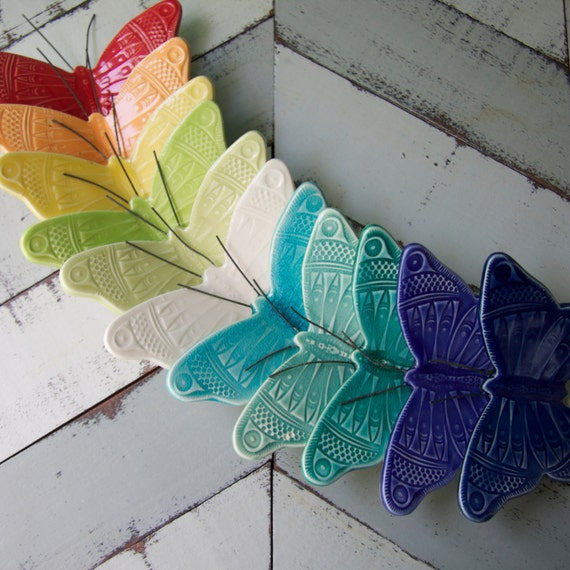 Custom listing for Ryan, wall butterflies