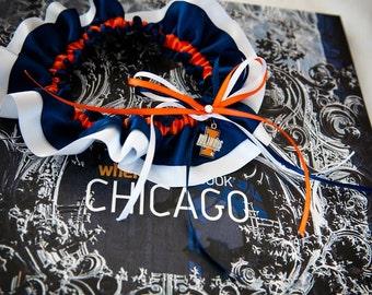 University of Illinois Fighting Illini Wedding Garter