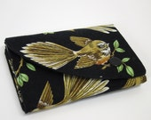 Compact Wallet with coin purse - Fantail/Piwakawaka