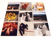 Wedding Photo coasters Personalized Ceramic Coasters personalized bridal shower gift picture coasters bridal gift Set of 9 coasters