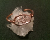 ANKH Quartz & Copper Wris...