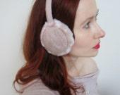 Knit Ear Muffs Faux Fur Ear Warmers