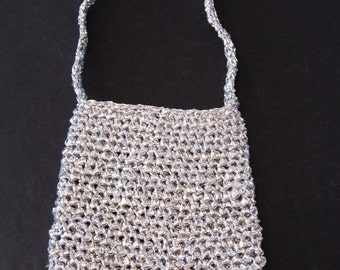 Recycled Silver Tote