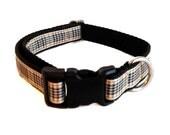 """Plaid Preppy Dog Collar, Harness or Leash 3/4"""""""