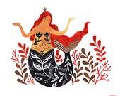 Mermaid Giclee Print