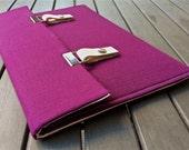 13 MacBook Case / 13 MacBook Air Case / 13 inch laptop sleeve / 13 MacBook Pro Case / 15 Macbook Pro Cover - Deep Purple