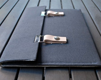 iPad Pro 9.7 Case iPad Mini 4 Case iPad Mini Case Samsung Galaxy Note 3 Case - Gray Linen
