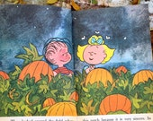 It's The Great Pumpkin, Charlie Brown Book, First Printing, 1968