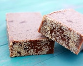 Sugared Gingerbread Soap Bar - Homemade Soap - Holiday Soap, Cold Process Soap