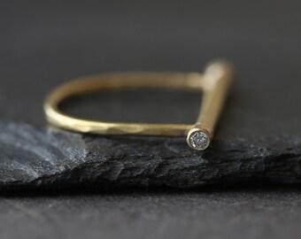 Diamond Bar Bell Ring