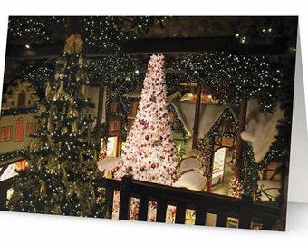 50 Greeting Cards Olde World Rothenburg Germany Art Photo Christmas Holiday Cards w/ Envelopes