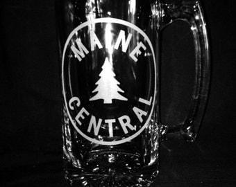 Maine Central 25 Ounce Beer Mug