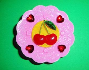 Cheery Cherries Barrette