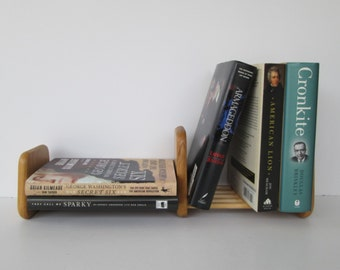 Sliding Wood Book Ends