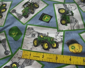 John Deere Cotton Fabric - by Yard