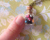 Teeny Tiny Allsorts Candy Bottle Necklace