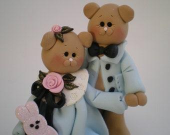 Neko Atsume Wedding Cake Topper