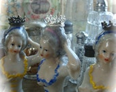 Wonderful Metal Crowns for Small Bisque Dolls or Half Dolls Girly French Lot