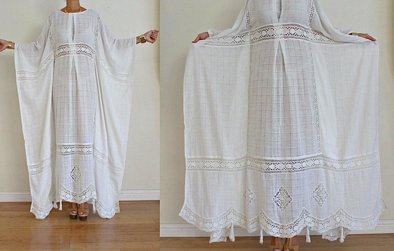 voile de coton blanc magnifique de upcycled crochet tassel. Black Bedroom Furniture Sets. Home Design Ideas
